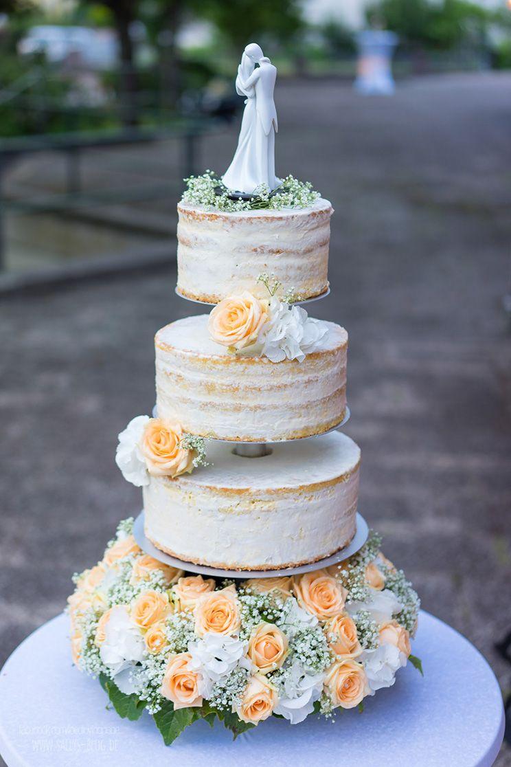 Hochzeitstorte Eistorte Mit Pfirsich Mango Parfait Cake Wedding