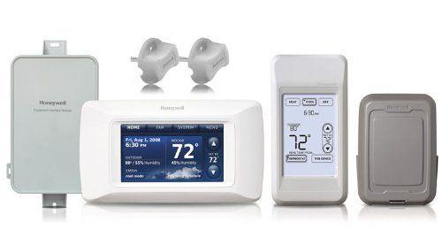 Honeywell YTHX9421R5077 - Prestige IAQ 2.0 HD 2-Wire Thermostat ...
