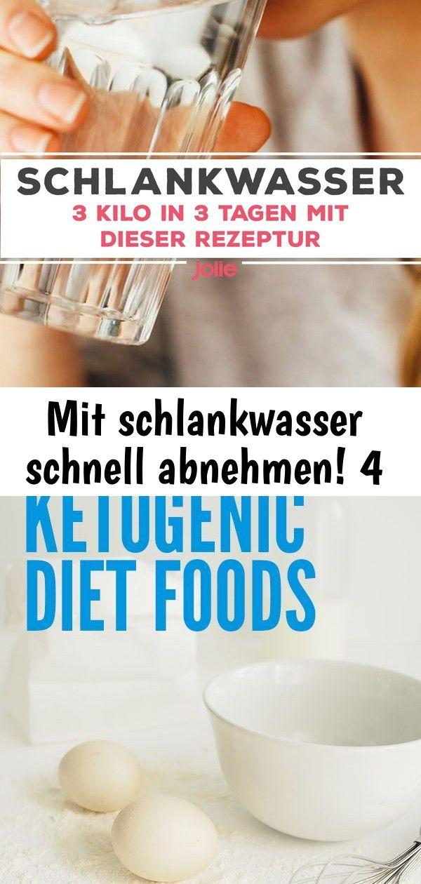 Diät in 4 Tagen zu entleeren