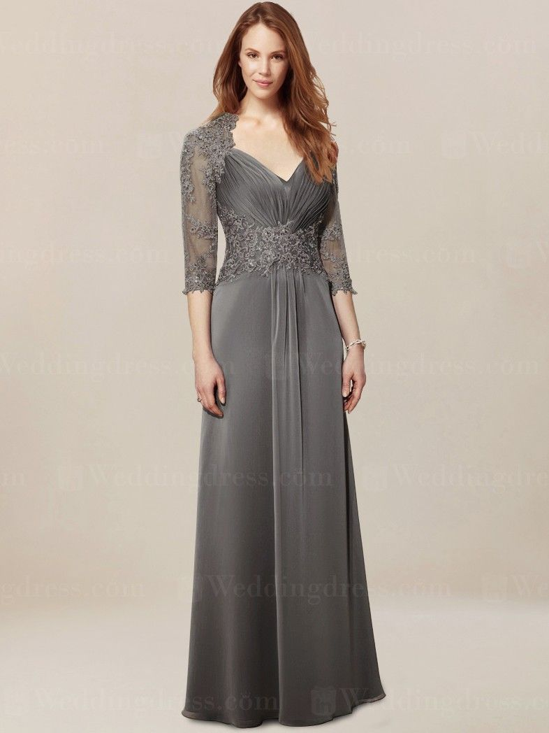 Mother of the Groom Dress with Sleeves MO342 | Mutter des Bräutigams ...