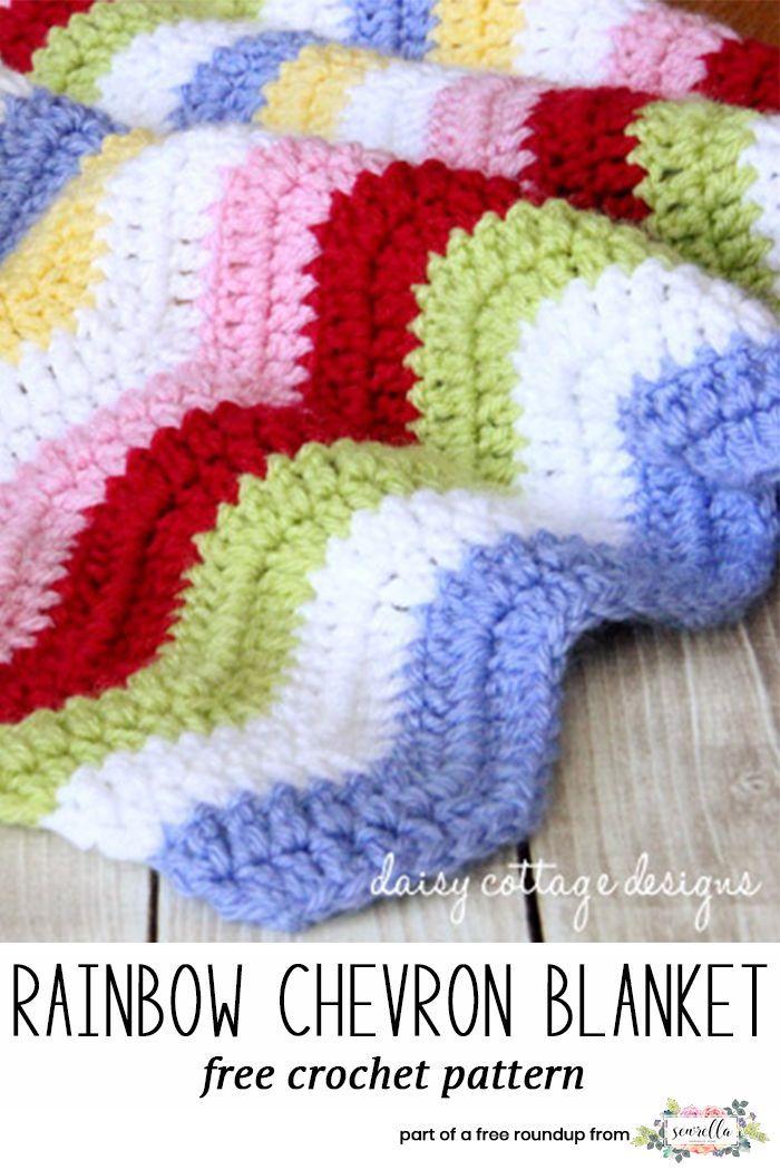 Crochet Rainbow Baby Free Pattern Roundup Pinterest Rainbow