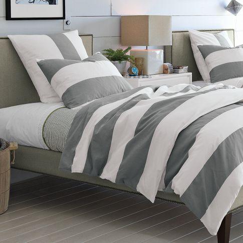 I love the grey stripes!