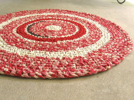 Crochet Rag Rug Candy Le Red