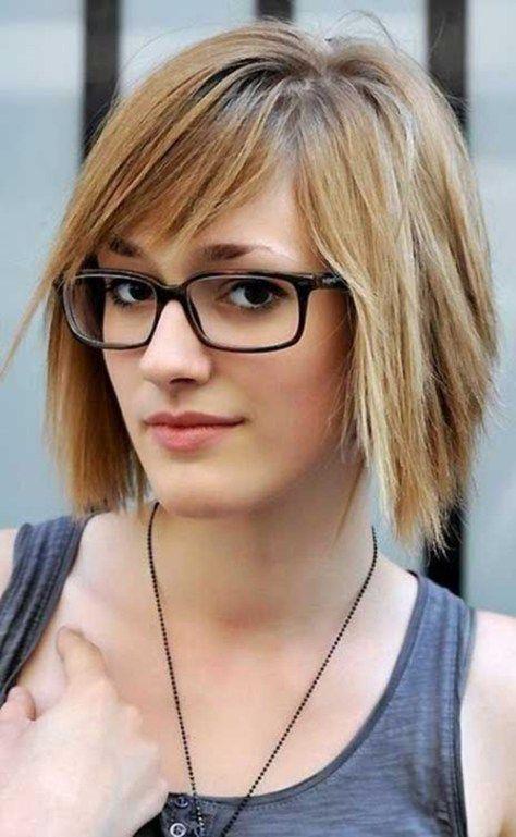 Frisuren fur feines haar mit brille