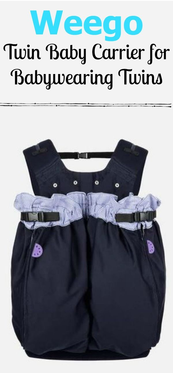 Weego Twin Baby Carrier For Babywearing Twins New Mom Must Haves