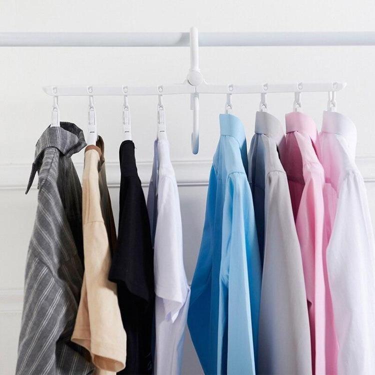 Smart Collapsible Hanger Space Saving Hangers Clothing Rack