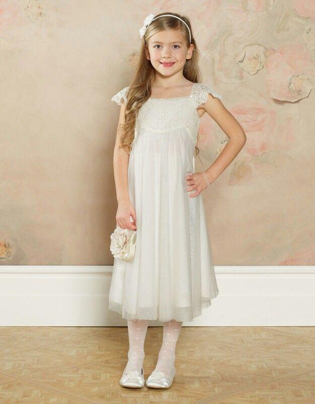 Bridesmaid white