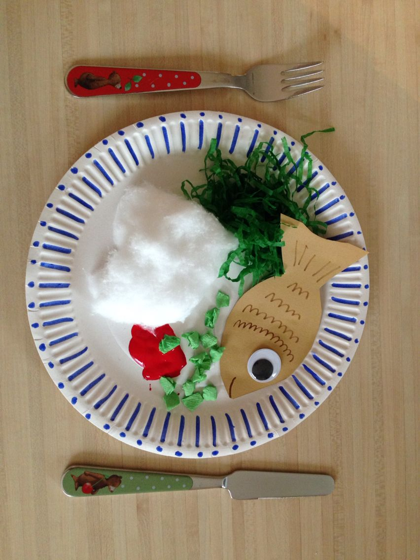 Paper plate healthy food art for kids Healthy food art