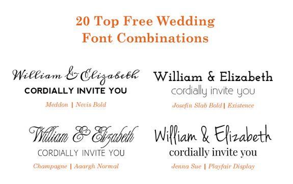 20 Popular Free Google Wedding Font Combinations Bonfx Wedding Fonts Combinations Wedding Fonts Font Combinations