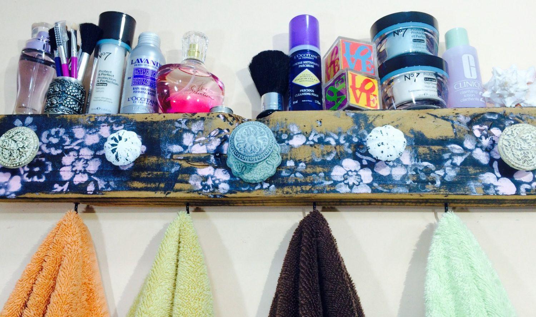 Towel holder /bathroom storage /bath towel hanger /decorative ...
