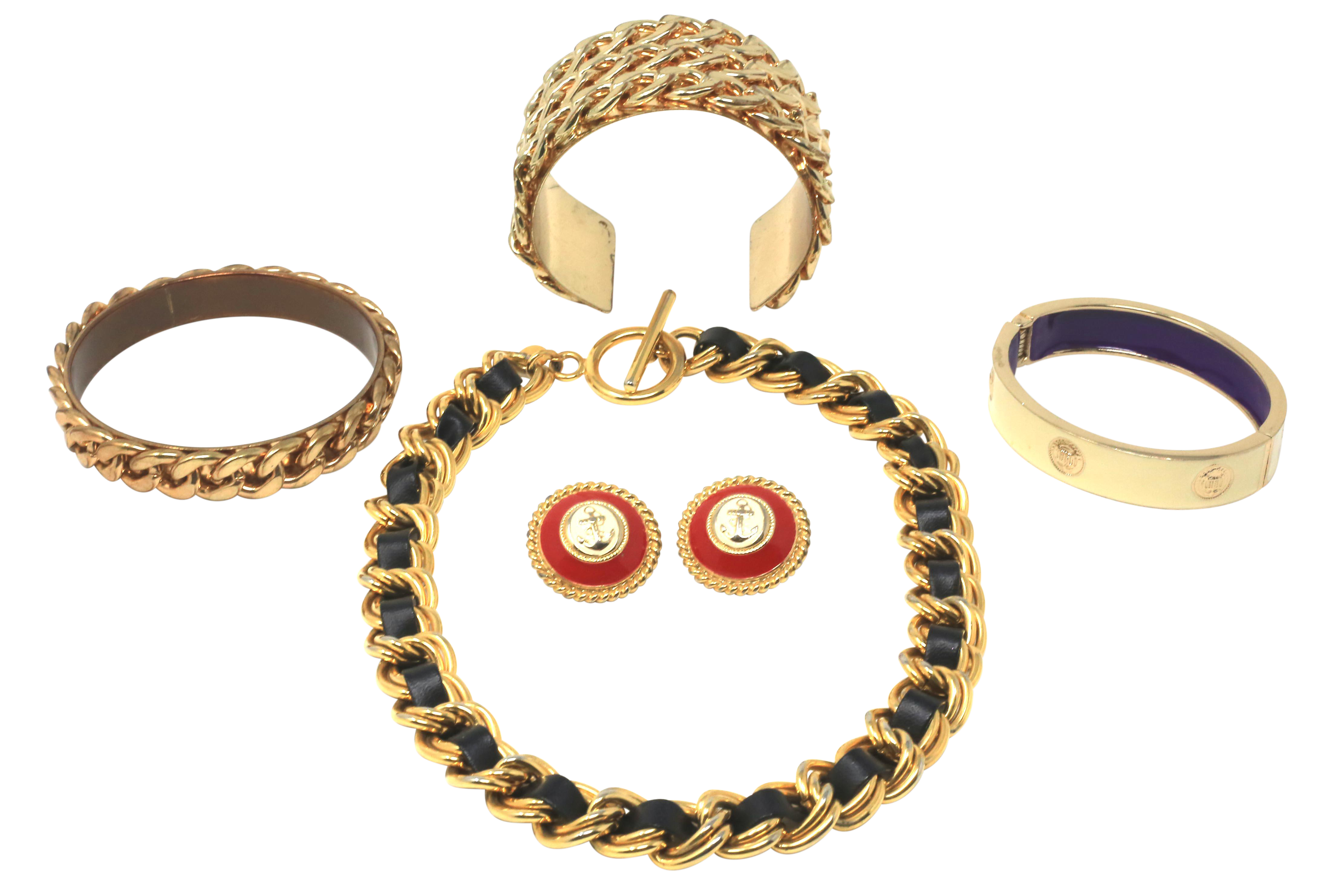 Vintage Chanel Inspired Jewelry Collection Of 6 On Chairish Com