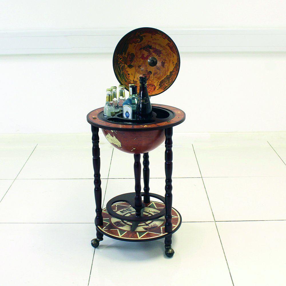 Surprising Globe Shaped Drinks Cabinet Mini Bar Trolley Vintage Retro Home Interior And Landscaping Eliaenasavecom