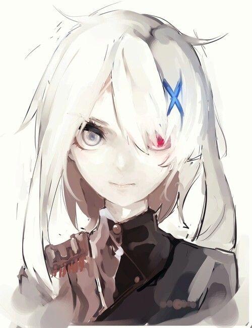 תוצ�ת ת�ונה עבור anime girl KILL white hair�