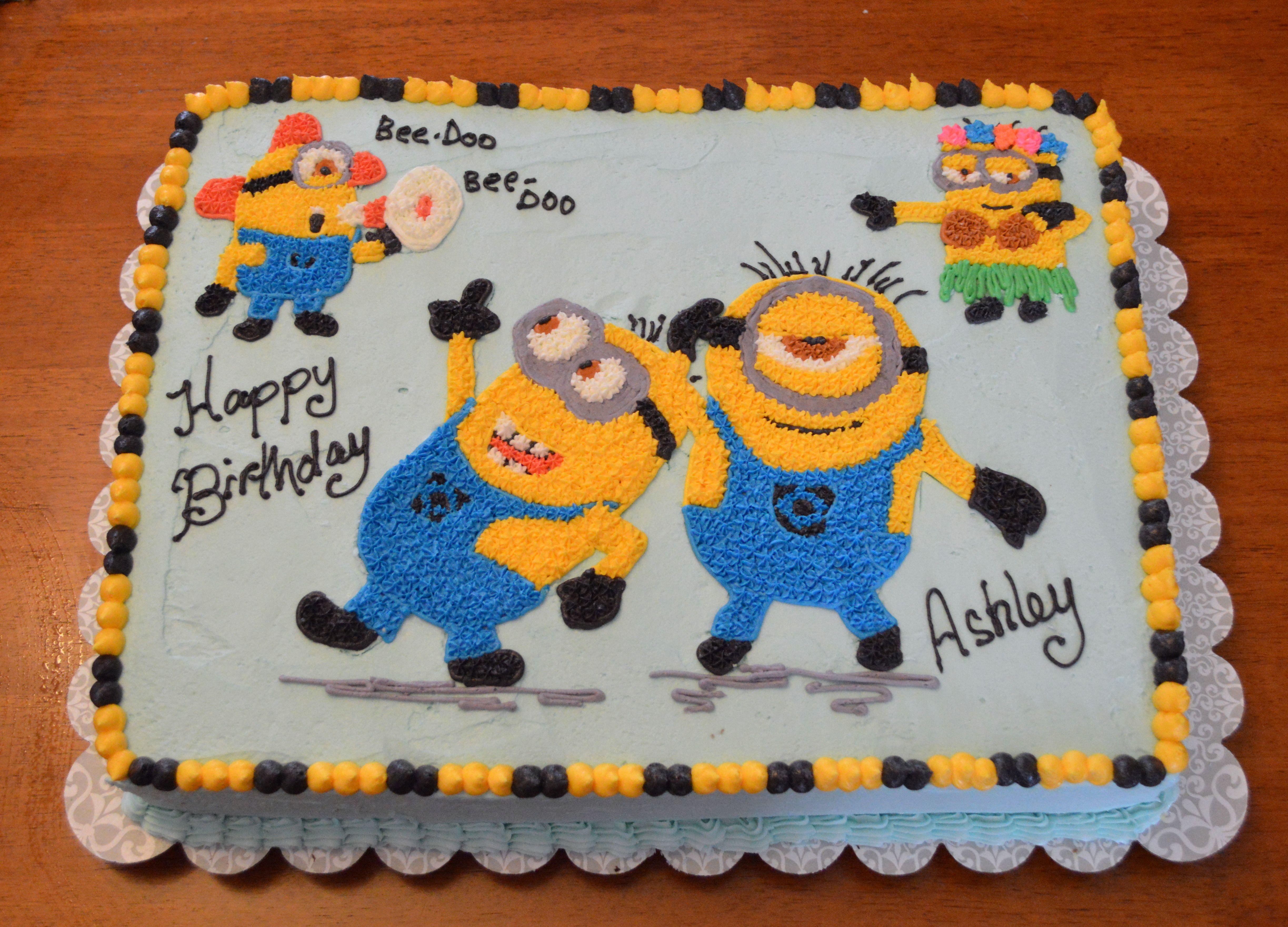 Minion Cake Minion Cakes Birthday Cakes And Cake