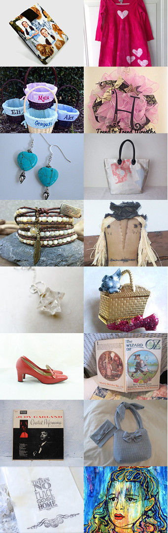 Off to See the Wizard by JoAnne M Cagle on Etsy--Pinned with TreasuryPin.com #Etsyvintage #Estyhandmade #giftideas