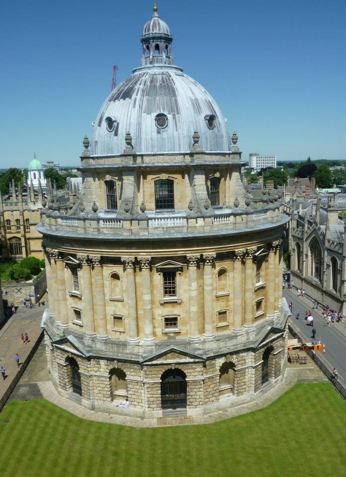 Radcliffe Camera Built In 1749 The Building Is Actually A Library