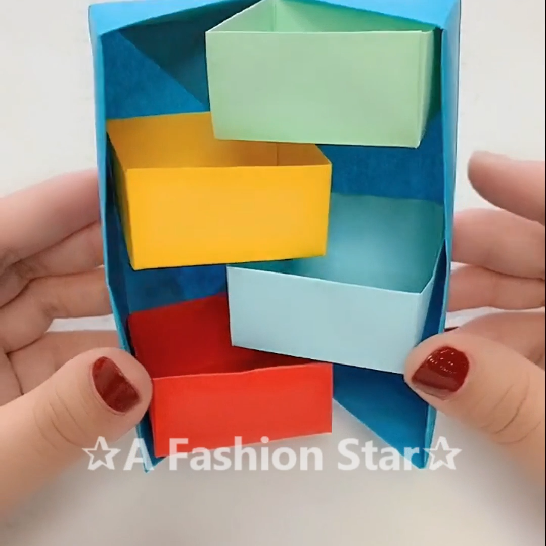 Amazing Paper Storage Box DIY✰A Fashion Star✰ #DIY #Ideas