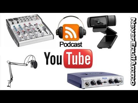 1 How To Podcast Equipment U Need Live