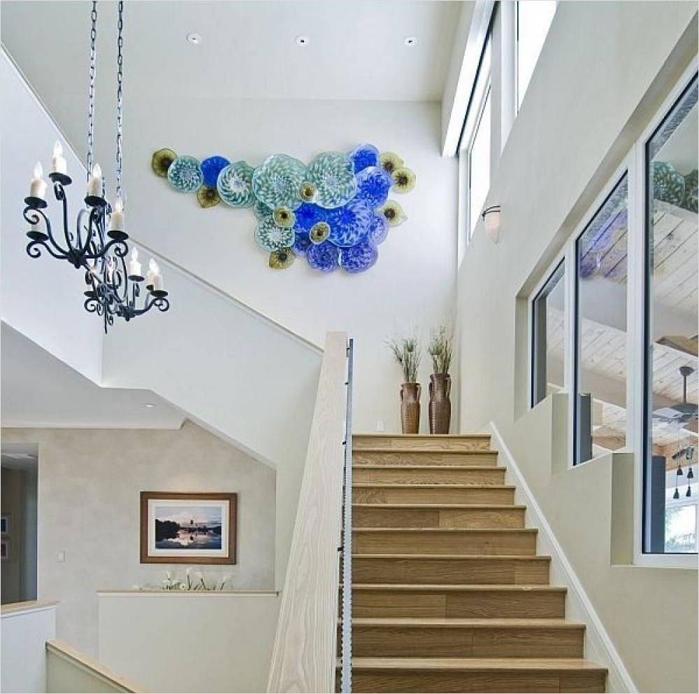 30+ Unique Staircase Wall Decorating Ideas   Staircase ... on Creative Staircase Wall Decorating Ideas  id=95751