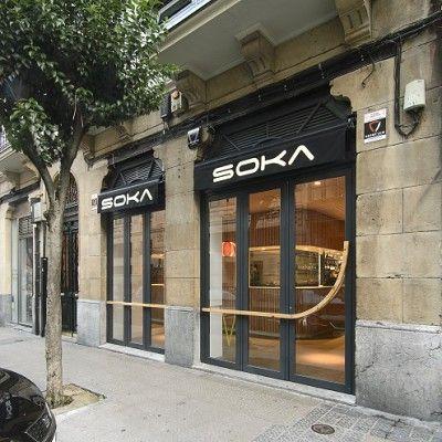 Bar SOKA Bilbao Diseño de Garmendia Cordero Arquitectos - bao de piedra