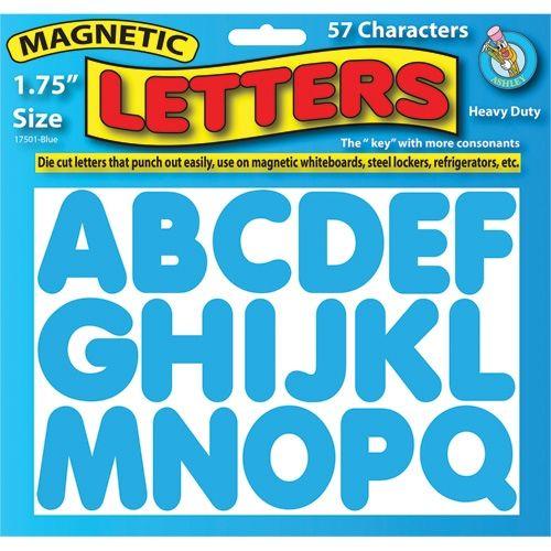 1 3 X2f 4 Quot Magnetic Letters Blue Ash17501 Magnetic Letters Classroom Essential Letters