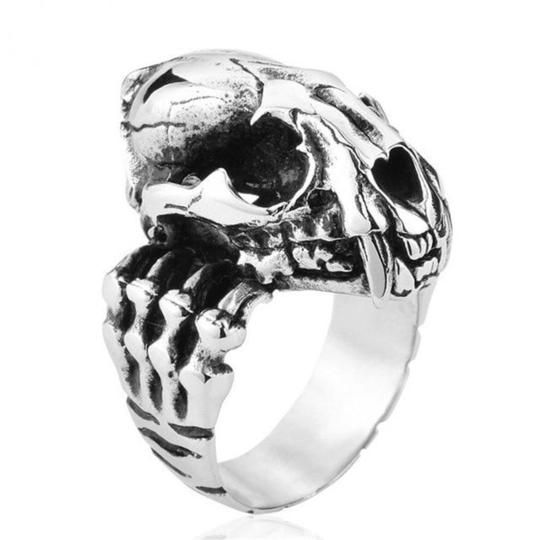 Punk Cool Skull Fashion Big Ring Alloy Gothic Biker Hip Hop Menintothea