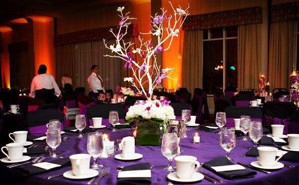 branche arbre orchidee decoration table mariage estelle. Black Bedroom Furniture Sets. Home Design Ideas