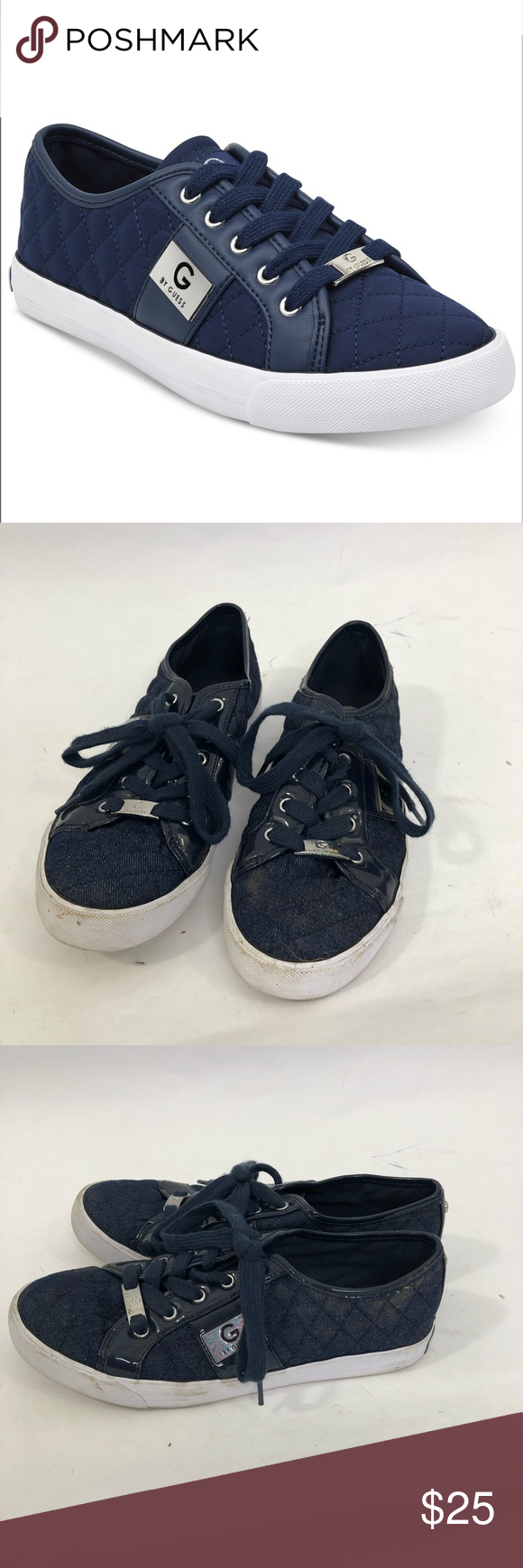 G by Guess Backer Lace Up Sneaker Size 8 G by Guess Backer Lace Up Sneaker Size …