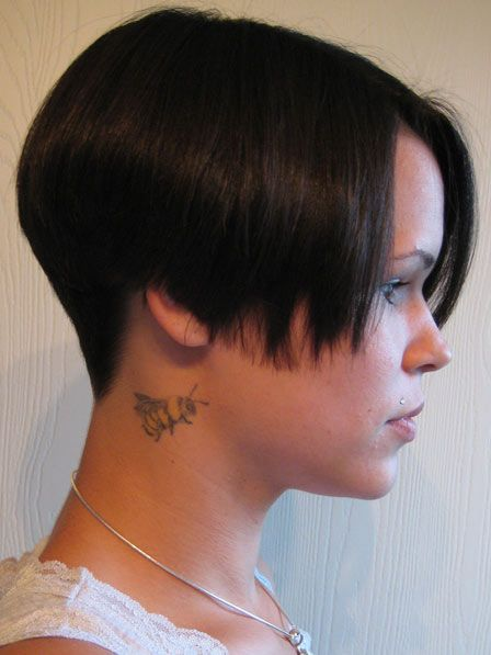 Incredible 1000 Images About Bad Cut In Back Don39T Like On Pinterest Short Hairstyles Gunalazisus