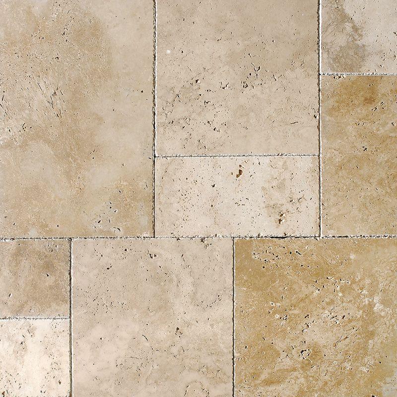 Orange Bathroom Floor Tiles