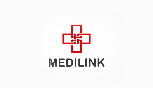 Medilink Logo I Love Logos Brands Pinterest Medical Logo