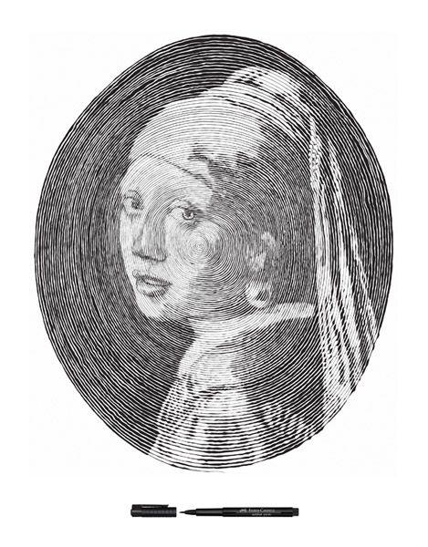 Faber Castell Pen art