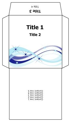 Free Cd Sleeve Template  Take Note    Template Free