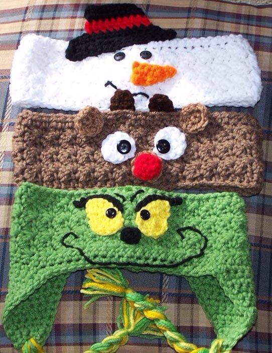 Ear Warmers (not my actual work, but similar) | Hats | Pinterest ...