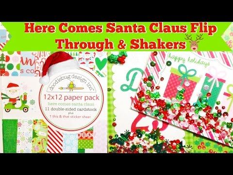 Doodlebug Christmas Paper Haul & Shakers! - YouTube