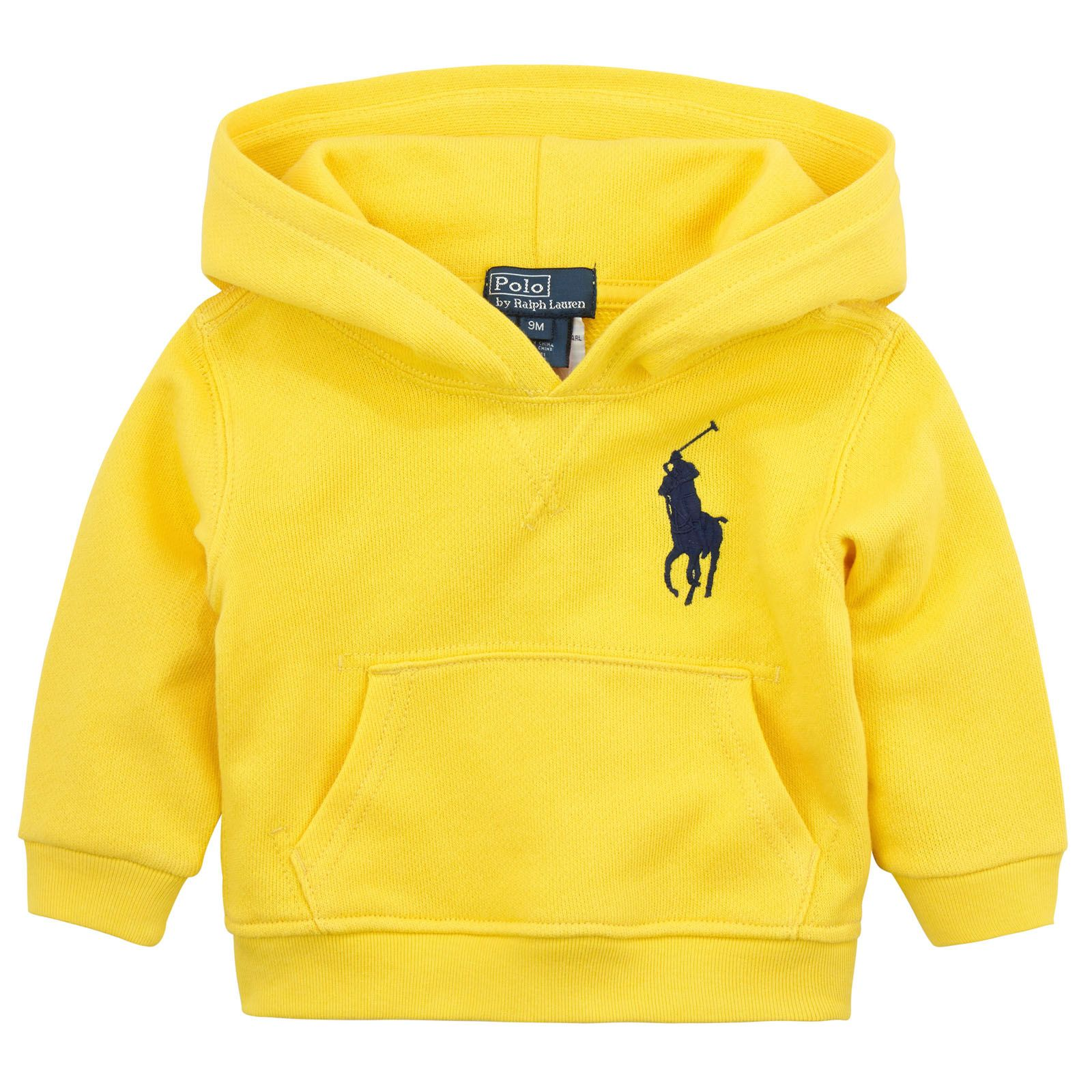 Ralph Lauren Bright yellow fleece hoo Yellow