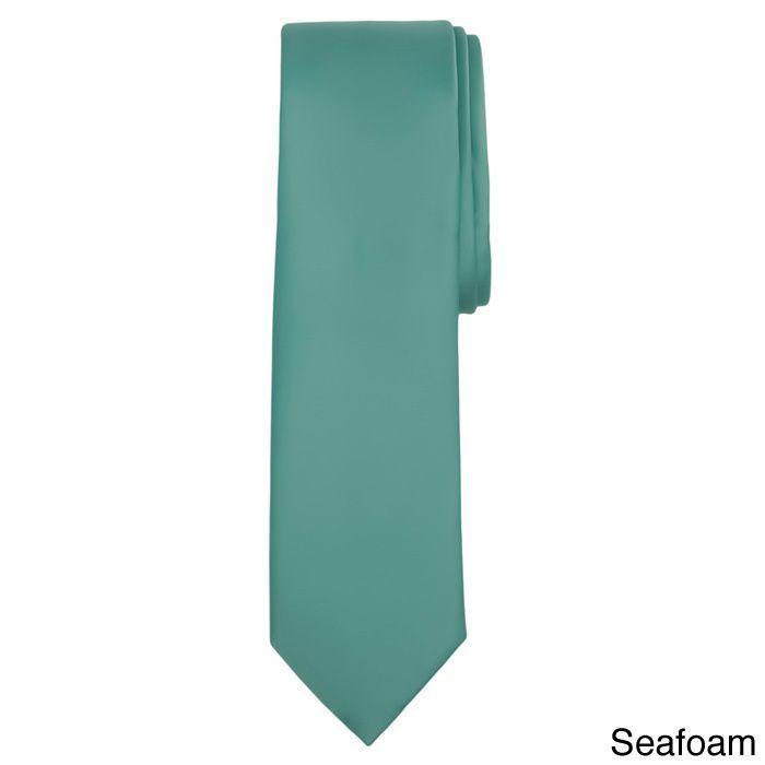 Jacob Alexander Color Men's Slim Tie