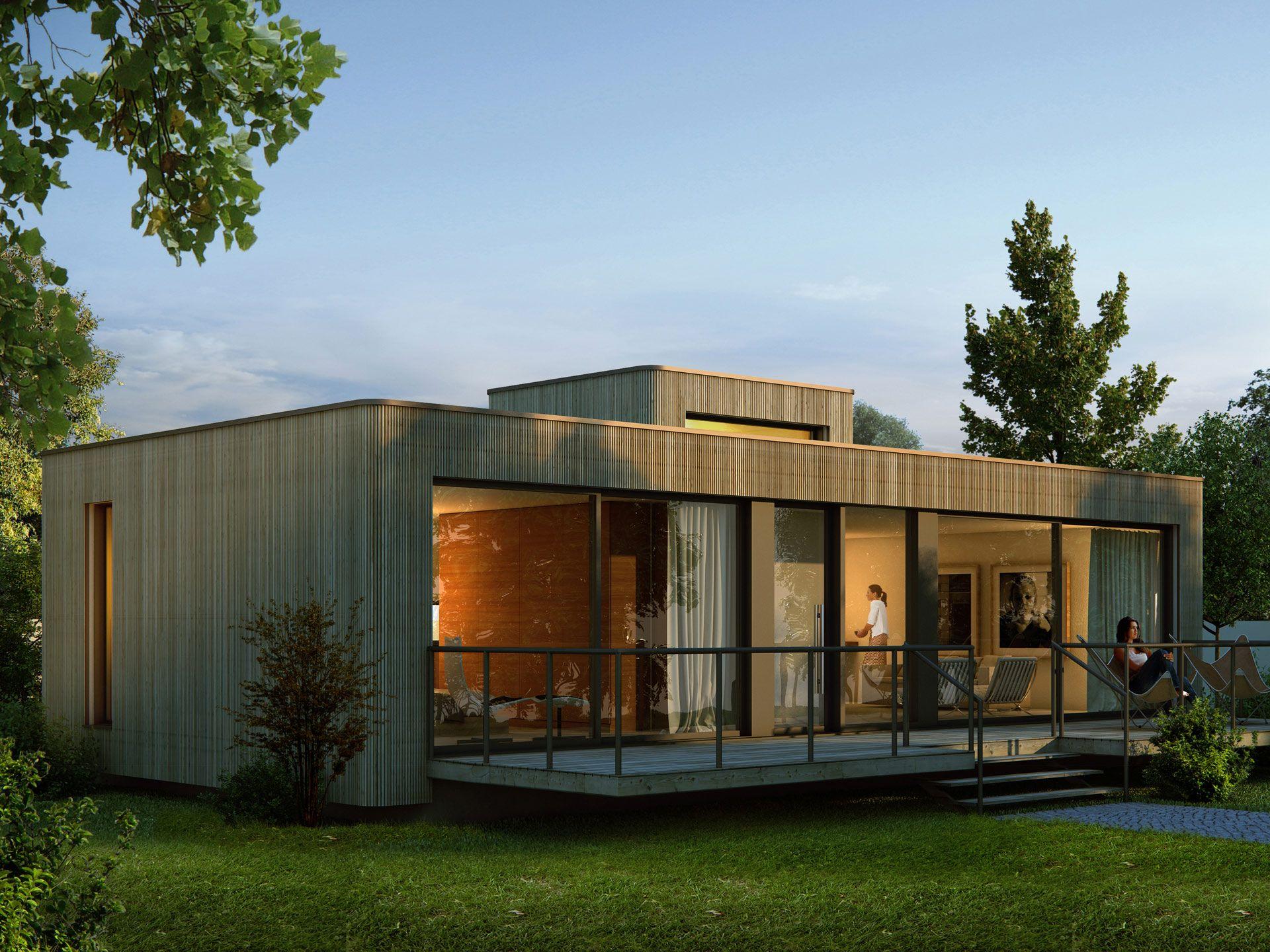 Holzhaus 75 Qm : singlehaus holzhaus von palisadio attraktiver bungalow ~ Lizthompson.info Haus und Dekorationen