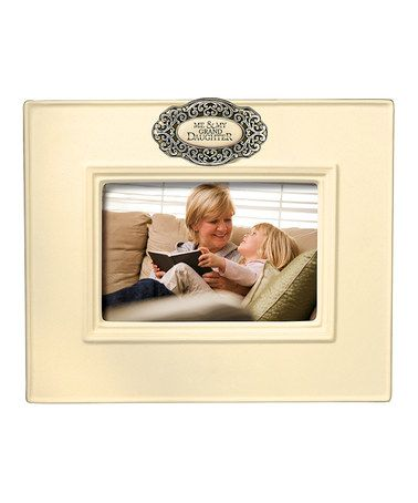 Take a look at this \'Me & My Granddaughter\' Frame on zulily today ...