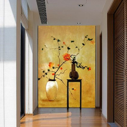 Calm and Beautiful Japanese Flowers Wallpapers Wall Murals Stickers ...