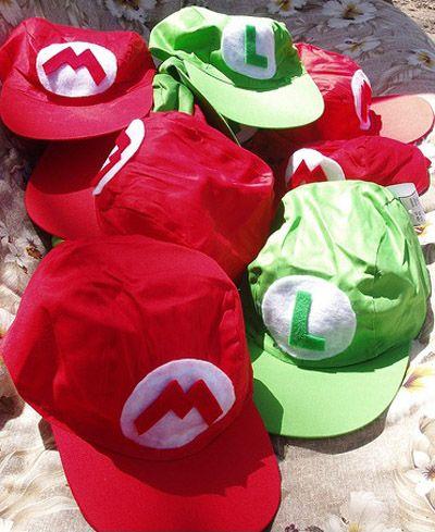 Super Mario Bros Party Ideas | yvonnebyattsfamilyfun
