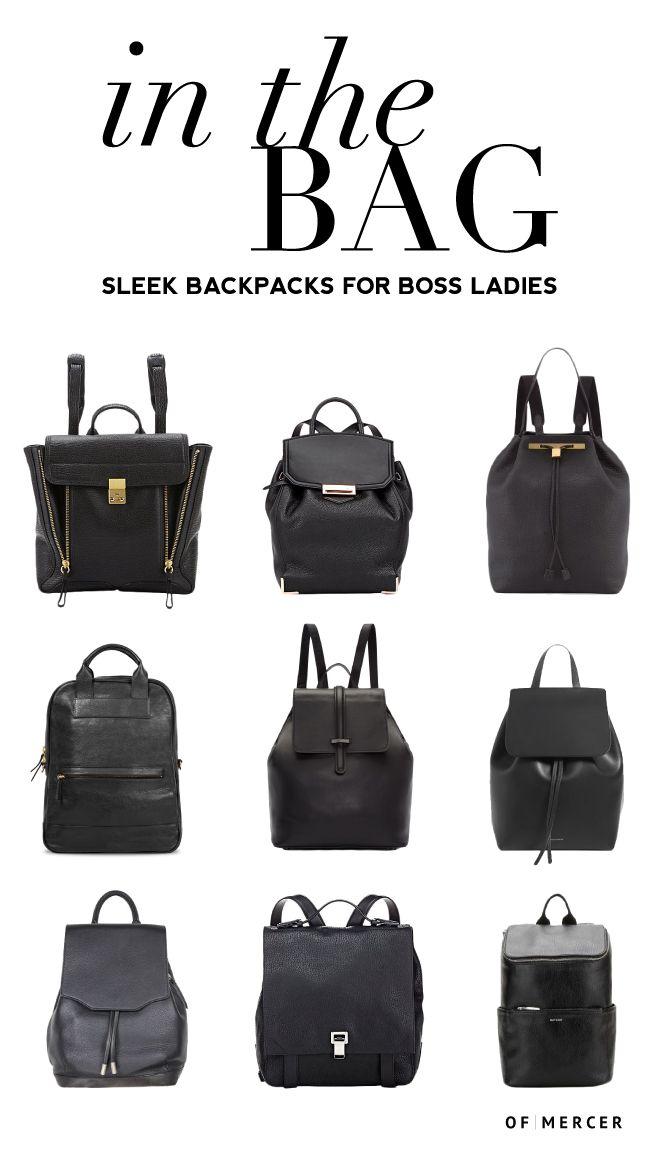 352a63f34047 Sleek Backpacks for Professional Women