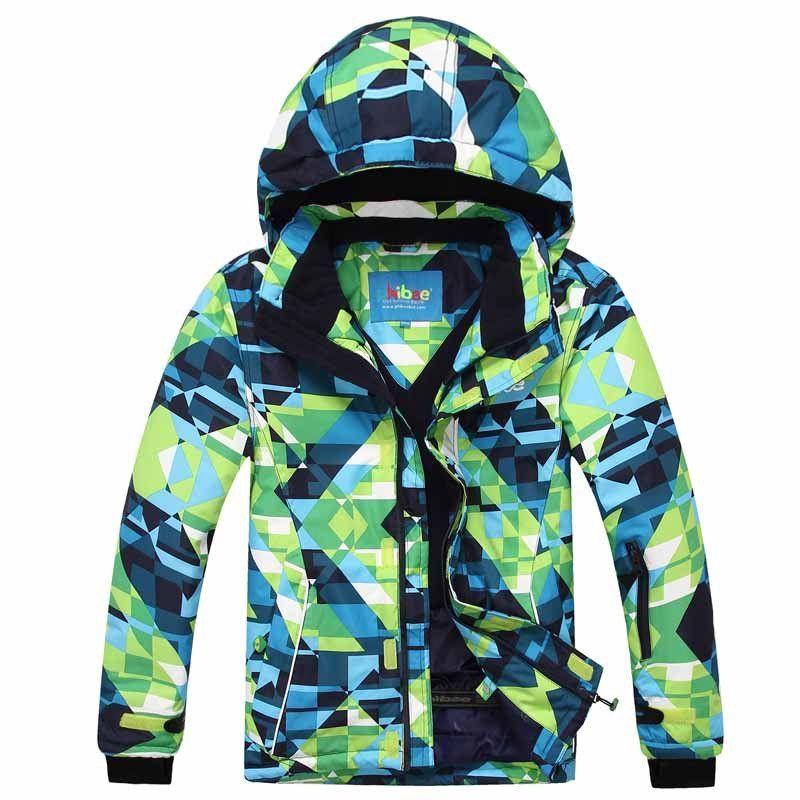 2627ff0035 Detector Children winter ski jacket Boys snowboard jackets waterproof  windproof snow jacket outdoor warm breathable coat
