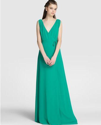 20efa9a308a6 Vestido largo de mujer Easy Wear cruzado | vestido bodas | Vestidos ...