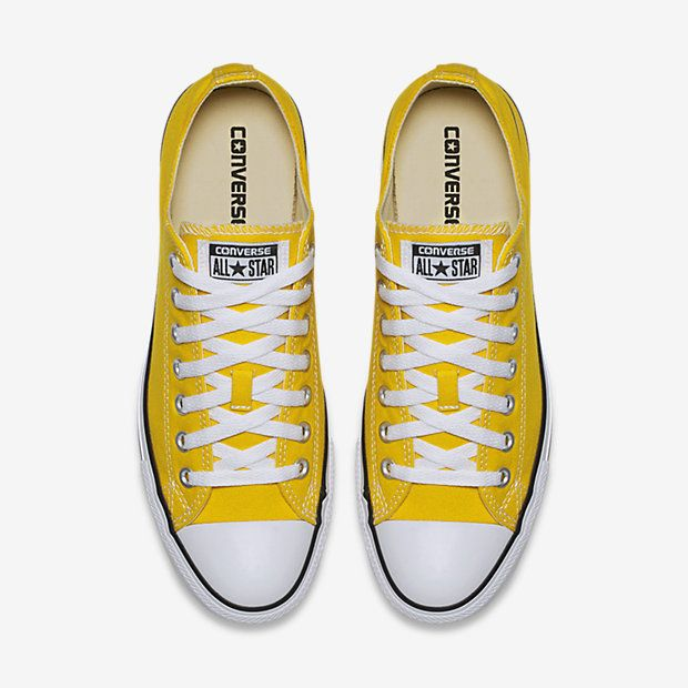 06be45f9f976 Converse Chuck Taylor All Star Low Top Unisex Shoe in gold yellow in size  women s 8