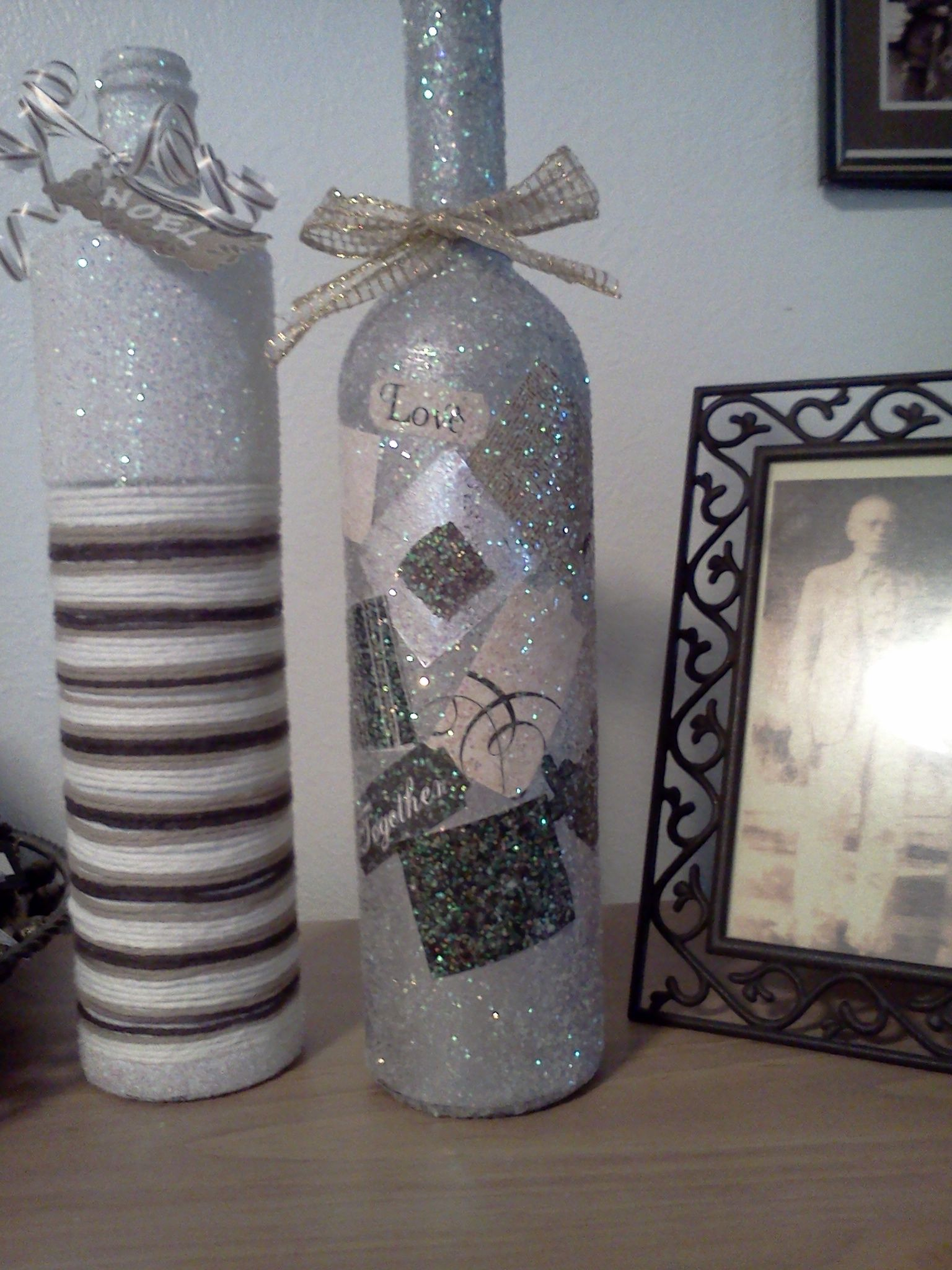 Crafty Neat Things On Pinterest Diy Wall Decor Wine Bottles And Painted Wine Bottles