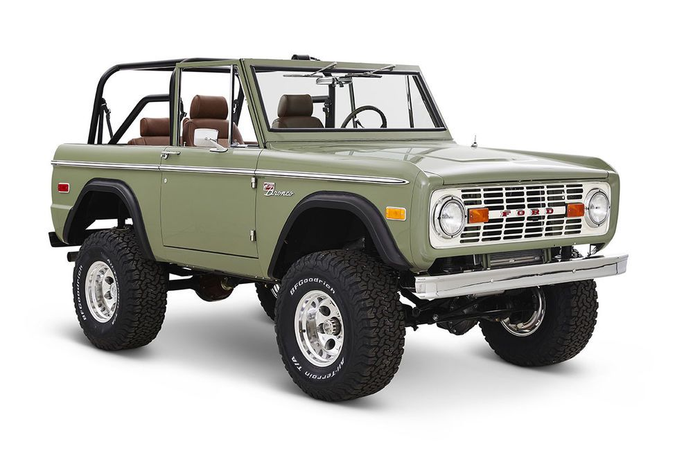 Ford Bronco Restoration >> Ebay 1972 Ford Bronco Coyote Restoration 1972 Classic Ford