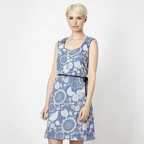 ac63a1c86e Mantaray Blue floral ladybird dress- at Debenhams.com | mantaray ...