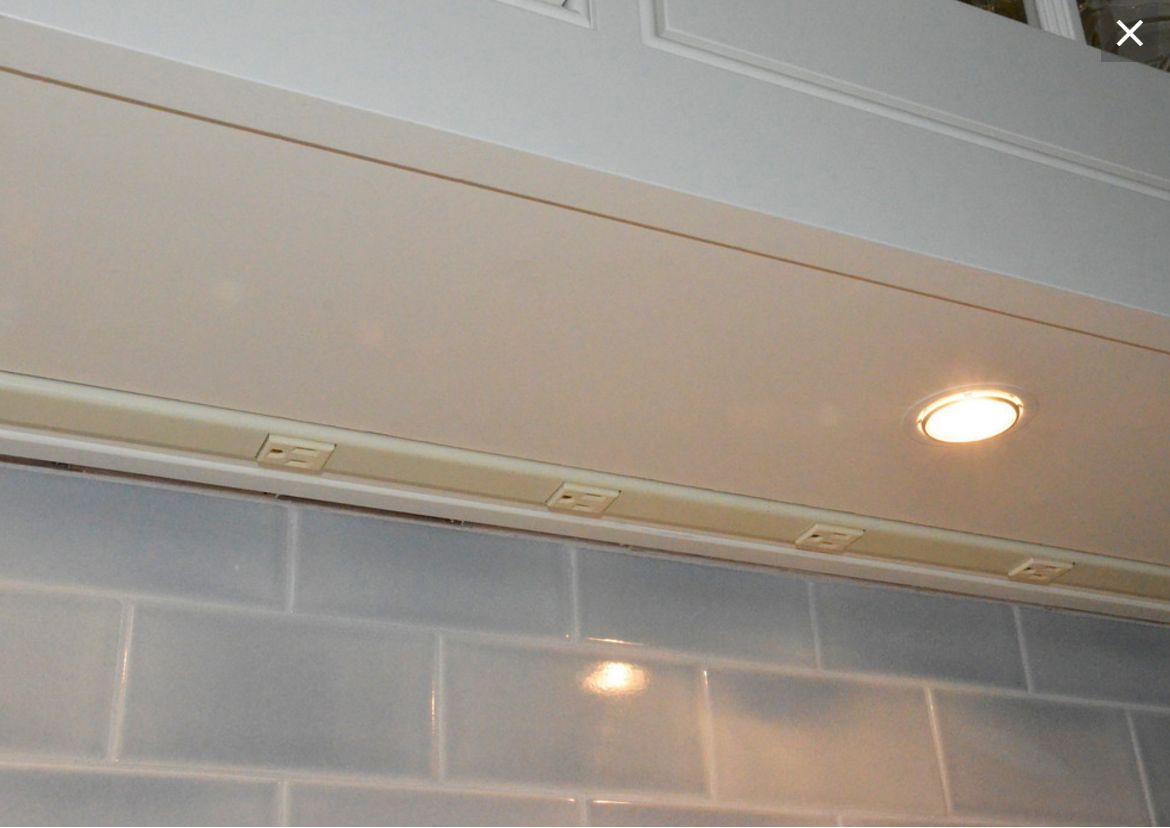Plugmold Recessed In Cabinet Bottom Depending On Your Cabinet Face There May Be A False Bottom Under Cabinet Lighting Kitchen Cabinet Outlet Cabinet Outlet