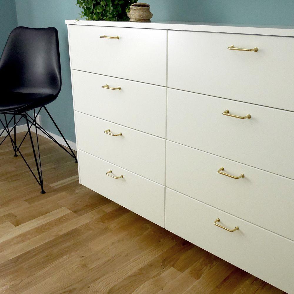 Bänkskåp - byrå IKEA grund byrå med bra förvaring till vårt sovrum ...